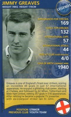 2005-06 Top Trumps Specials Chelsea #NNO16 Jimmy Greaves Front