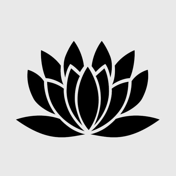 lotus stencil - Google Search