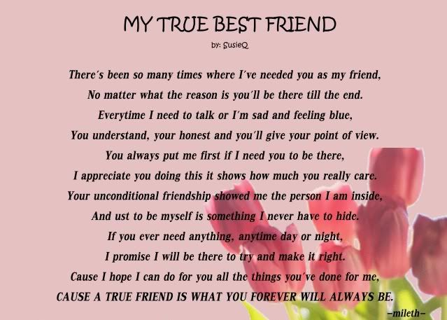 25+ best ideas about Best friend poems on Pinterest | Quotes for ...