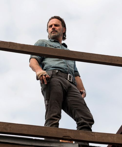 Rick Grimes in The Walking Dead Season 7 Episode 16   The First Day of the Rest of Your Life