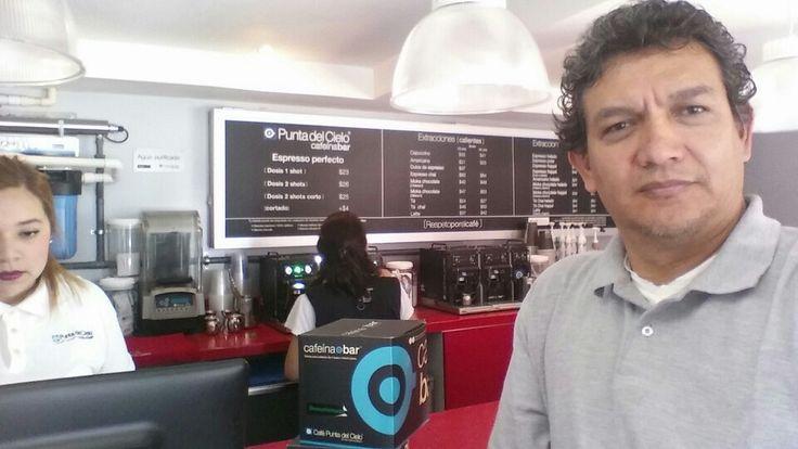 Cafeinando la creatividad para el #moocarteytic en Morelia, Michoacan, México.