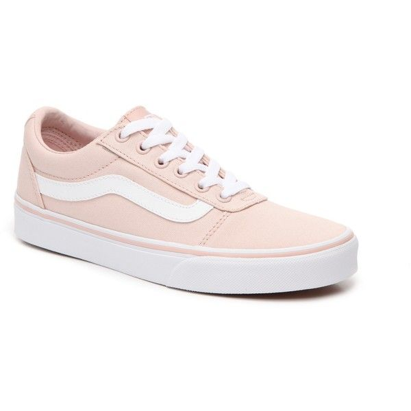 Vans Ward Lo Sneaker - Women's Women's Shoes | DSW ($39) ❤ liked on Polyvore featuring shoes, sneakers, vans footwear, vans shoes, vans sneakers and vans trainers