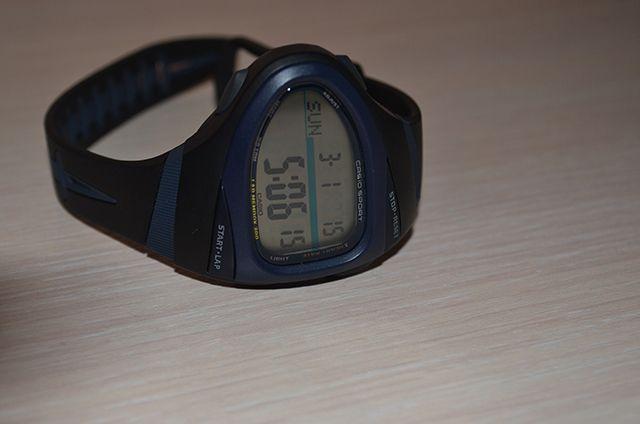 [Обзор Casio] Спортивные часы для бега CHR-100-1VER