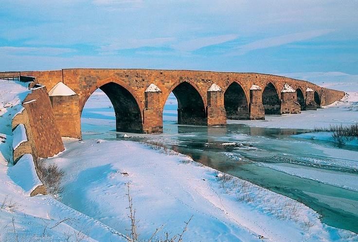 Çobandere Bridge - Erzurum - Turkey