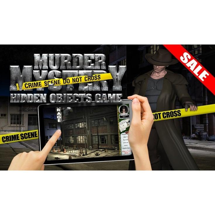 #HiddenObjects #MurderMysteryGame #Detective Game #KindleFireApp #AndroidApp  http://amzn.com/B00ARH4PB6