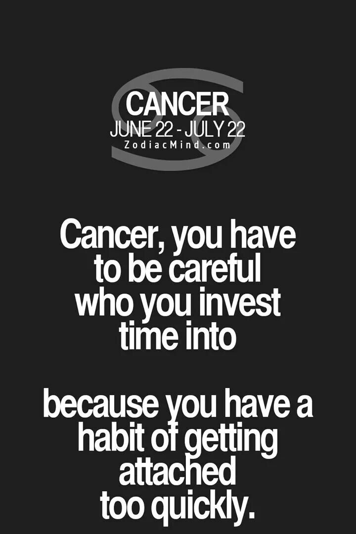 Change Zodiac Sign Cancer to Cancer Free! Cancer ♋ Zodiac Sign