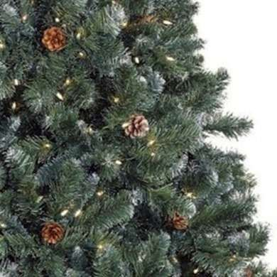 fake flocked tree best artificial christmas trees 10 top choices bob vila - Best Artificial Christmas Tree Reviews