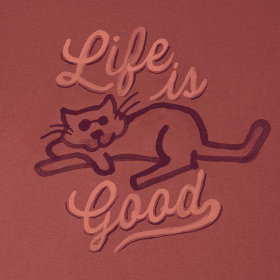 Buy Life is Good. Women's Crusher Tee - Road Trip Sunset - Cloud White at cinema15.cf
