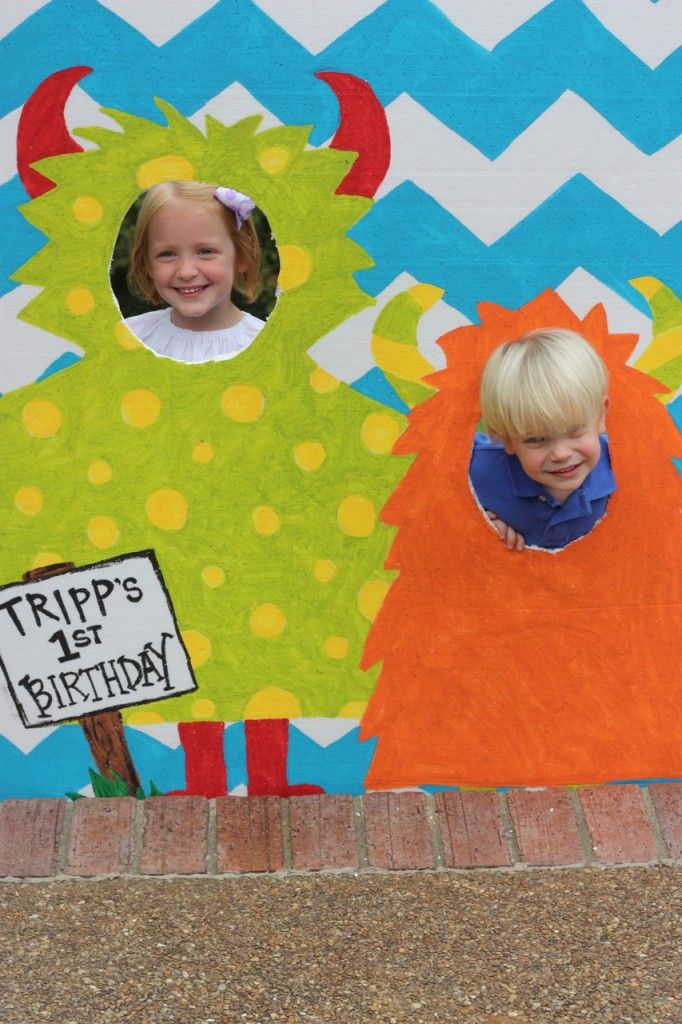 Little Monster 1st Birthday Party « Project Nursery