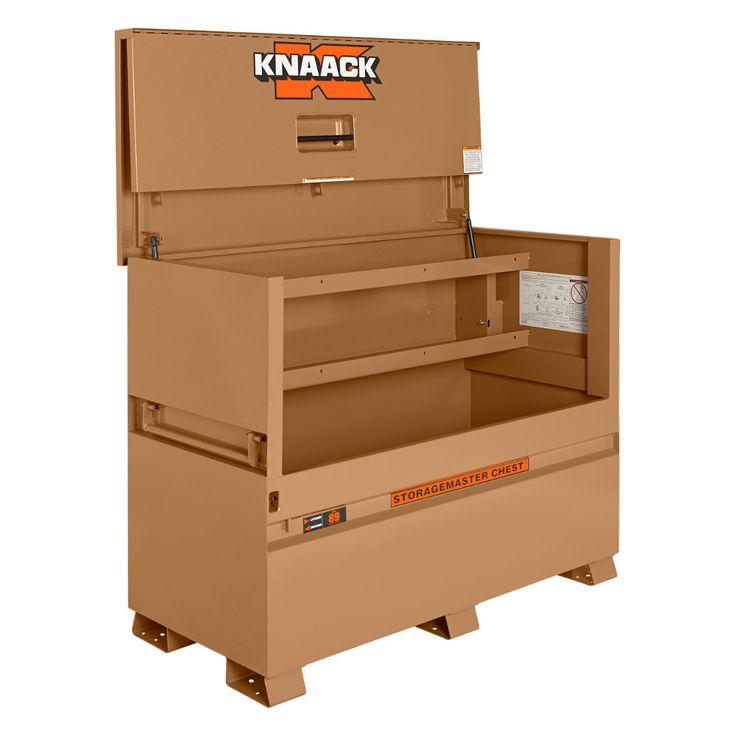 "Knaack 89 60"" x 30"" x 49"" Jobsite STORAGEMASTER Gang Box Chest"