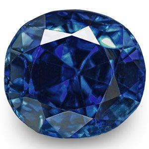 0.64-Carat Flawless Fiery Royal Blue Sapphire from Kashmir (IGI)