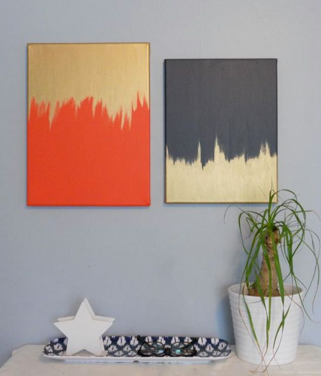 The 45 best images about art ideas on pinterest orange and gold wall art solutioingenieria Images