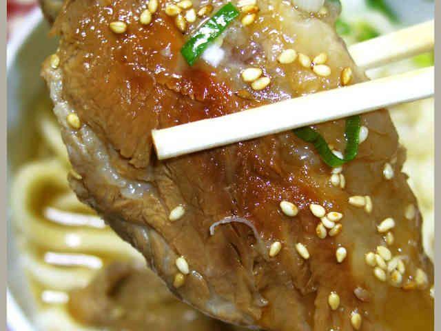 男のロマンだ!豚バラ軟骨で沖縄ソーキそばの画像