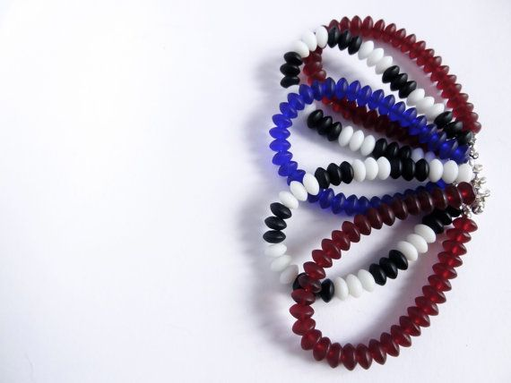AWESOME BRACELET by Cuorerosso of recycled glass di Cuorerosso, €90.00
