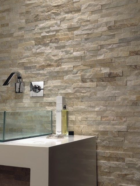 14 best images about natural stone tiles for the home on for Bathroom wall cladding ideas