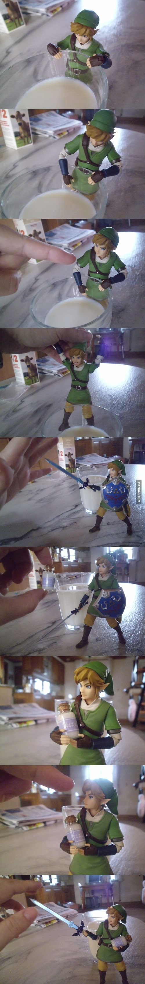 Figma Link milk stories (I'm sorry but this cracks me up XD)  where can i get a little link like that!!