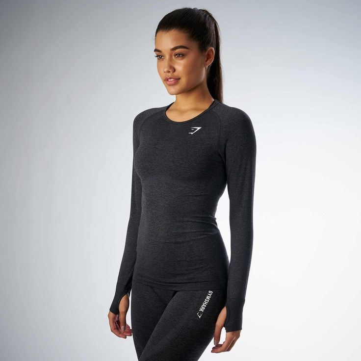 The Gymshark Seamless Long Sleeve provides an ultra-lightweight and comfortable fit. Ready to keep up with any workout, no matter how intense.  - Seamless knit