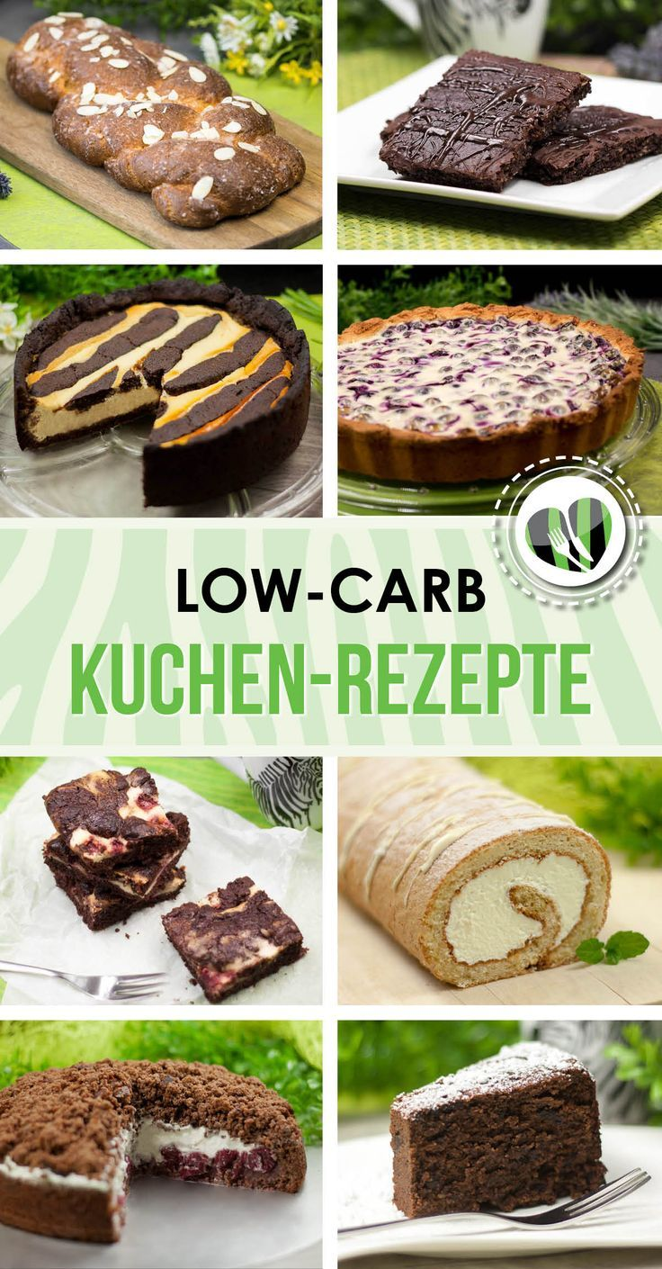 Leckere kohlenhydratarme Kuchenrezepte finden Sie auf www.schwarzgruene.com Natürlich …