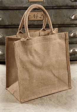 Burlap Bags with Handles 12x12 (6 bags) $19 for 6 bags: Wholesale items