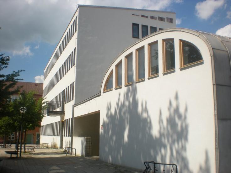 Hans Asplund / Swedish Architect / Esloev Medborgerhus / 1957