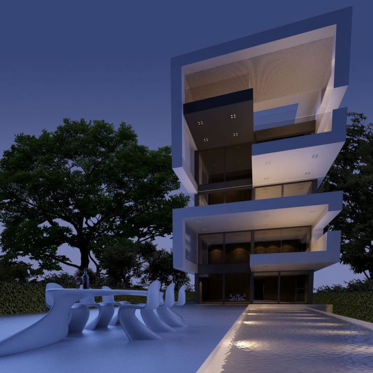 Eden residences in Voula Athens by Omniview #architecture #loft