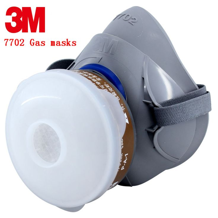 3M 7701/7702/7703 Advanced Silicone protective mask Comfortable type soft respirator mask Painting Graffiti respirator gas mask