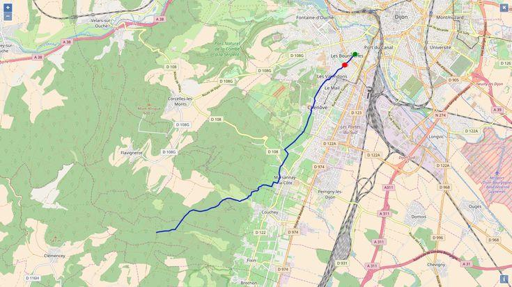 Whiskey Row Semi Marathon dans 4 mois! Et si on s'entraînait près de Dijon avec un parcours aux caractéristiques similaires?   #whiskeyrowmarathon #dijon #courir #coureur #coureuse #semimarathon
