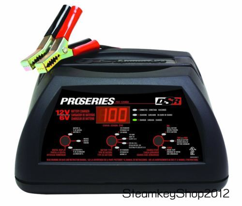 Schumacher DSR ProSeries Amp Volt Automatic SpeedCharge Hybrid Battery Charger Starter As Shown