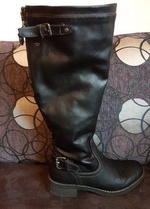 Kaufe meinen Artikel bei #Kleiderkreisel http://www.kleiderkreisel.de/damenschuhe/hohe-schuhe/149485613-hoher-stiefel-von-tom-tailor-neuwertig