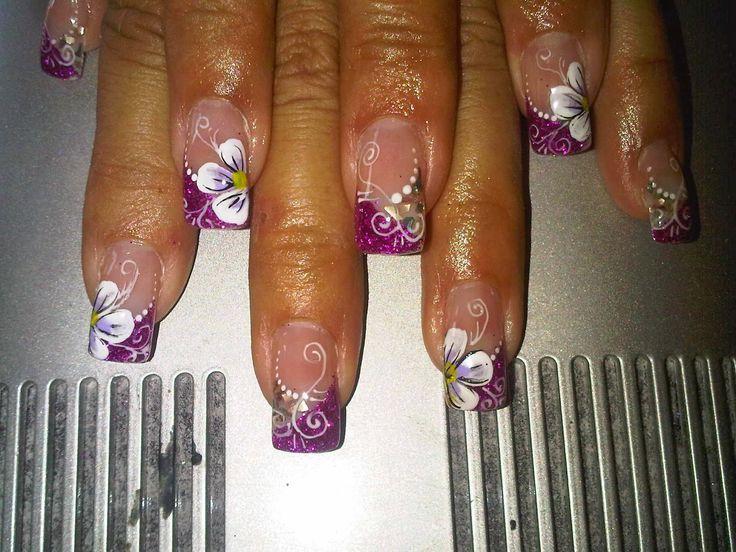 Resultado de imagen para imagenes de uñas pinceladas