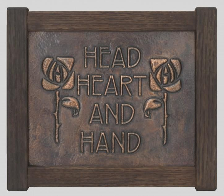 The motto of the arts and crafts movement. http://www.artsandcraftscollector.com/images/up/xlarge/-2.jpg