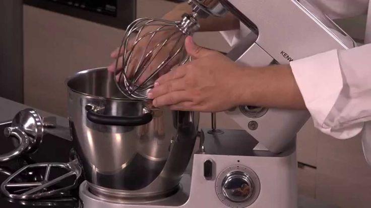 Recette de meringue au robot patissier cuiseur Cooking de Kenwood par l'...