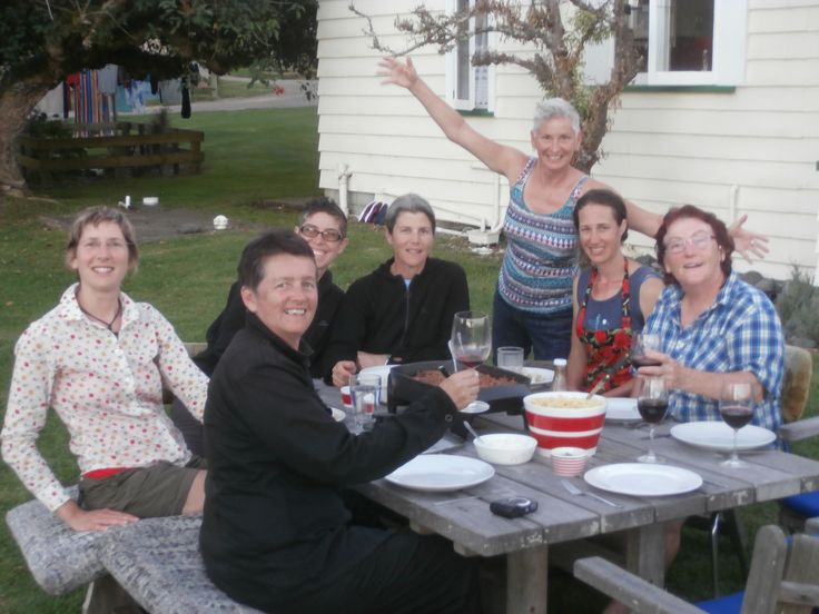 Another gourmet dinner on our Bay of Islands trip!