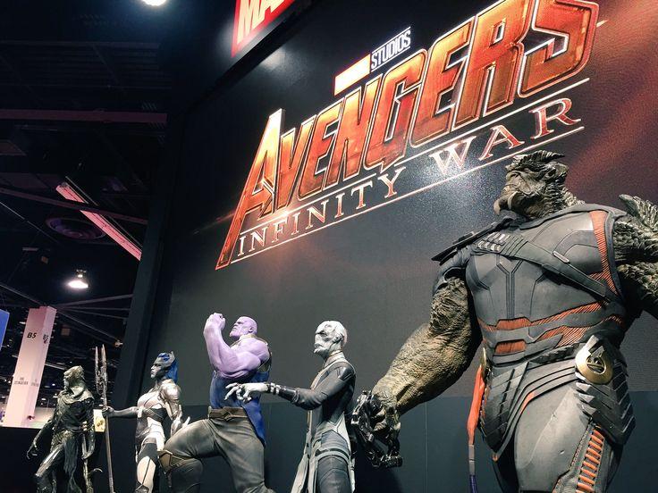 Avengers: Infinity War - D23 : revivez l'évènement (Thanos, Black Order, vidéo) !!!