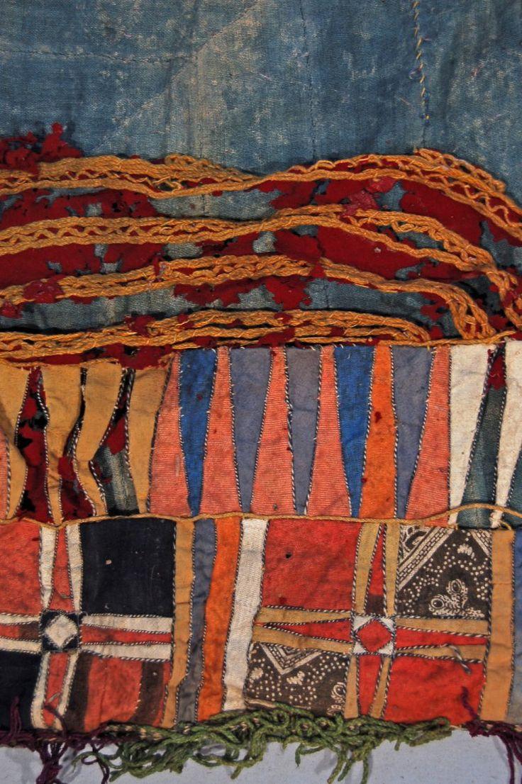 striped thread, British Museum image