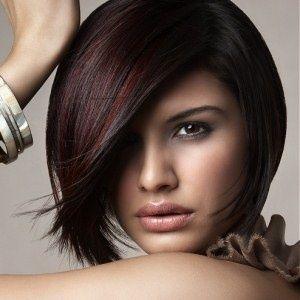 Plum and burgundy highlights | Haircut | Pinterest | Burgundy ...