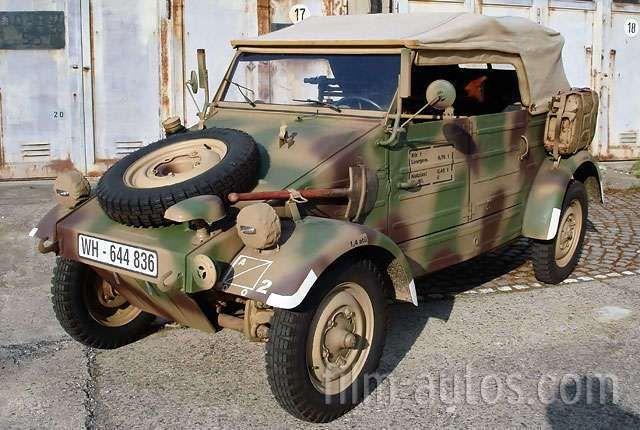 VW Typ 82 Kübelwagen Bild