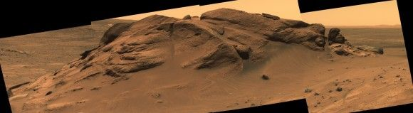 Did A Lake Once Cover Spirit Rover's Landing Site On Mars?