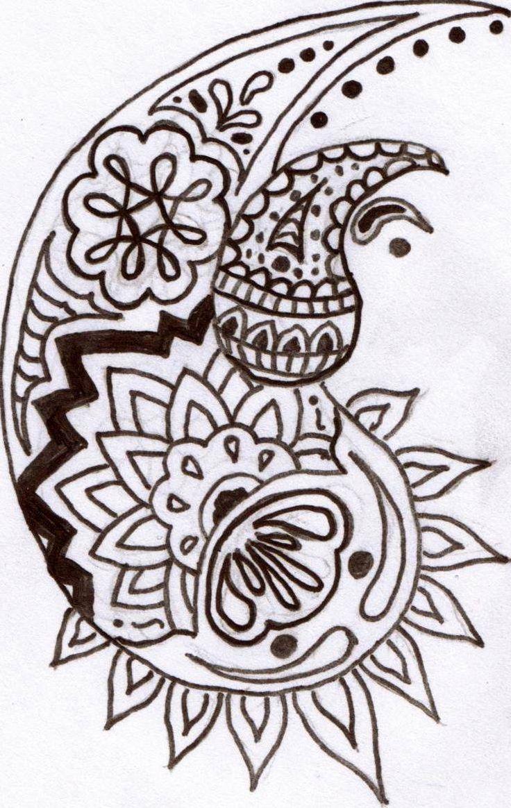 Printable Henna Tattoo Designs: Paisley & Henna Images On