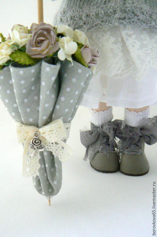 Купить Мариша. Бохо стиль - разноцветный, текстильная кукла, овечьи кудри, подарок, подарок девушке