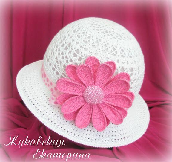 Mejores 49 imágenes de Crochet ____ Sombreros en Pinterest ...