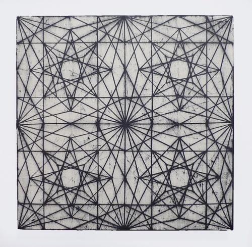 Rosaces et géométrie.