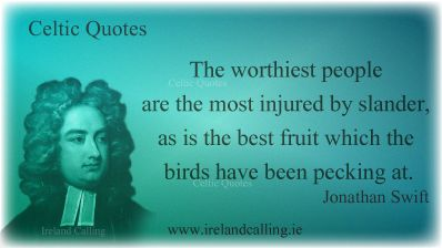 Lots more Jonathan Swift quotes on http://www.irelandcalling.ie/jonathan-swift-quotes-class-and-society