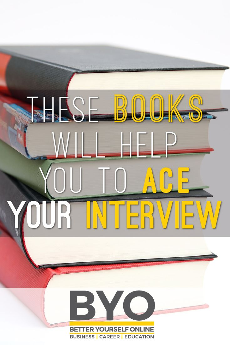 These Books Will Help You to Ace Your Interview