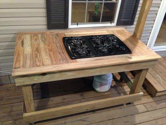 Kücheninsel selber bauen aus Paletten – 31 Modell-Anregungen – Freshideen   – Deutch | Sosyal Penguin