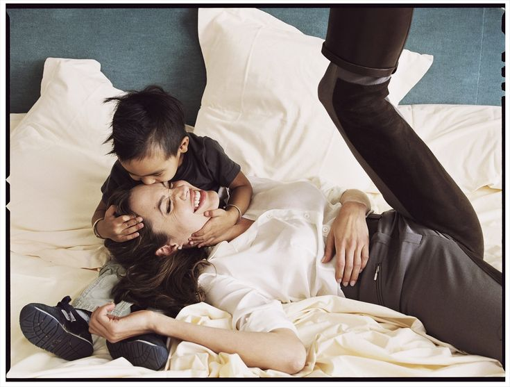 Annie Leibovitz, Angelina Jolie and her son Maddox
