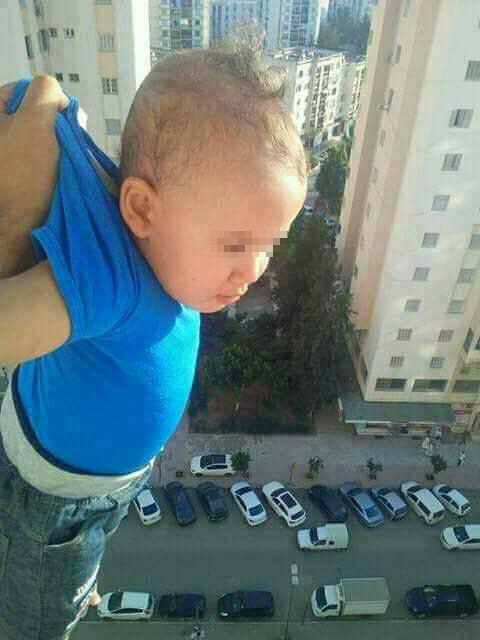 A Father Held Baby From Window of 15th floor To Get 1000 likes Now Jailed For 2 Years. - http://inewser.com/father-held-baby-window-15th-floor-get-1000-likes-now-jailed-2-years/