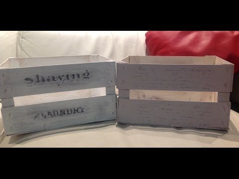 trasferimento d'immagine su legno stile shabby chic - DIY IMAGE TRANSFER ON WOOD SHABBY CHIC STYLE - YouTube