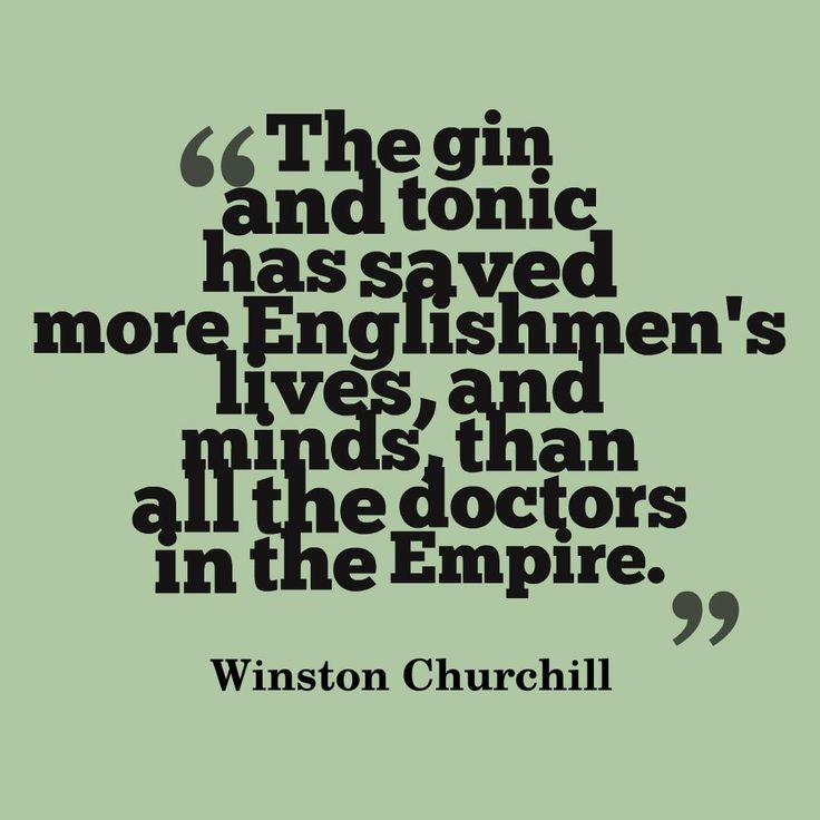 Winston Churchill on Gin. #gin #quote #quotestoliveby #Churchill                                                                                                                                                                                 More
