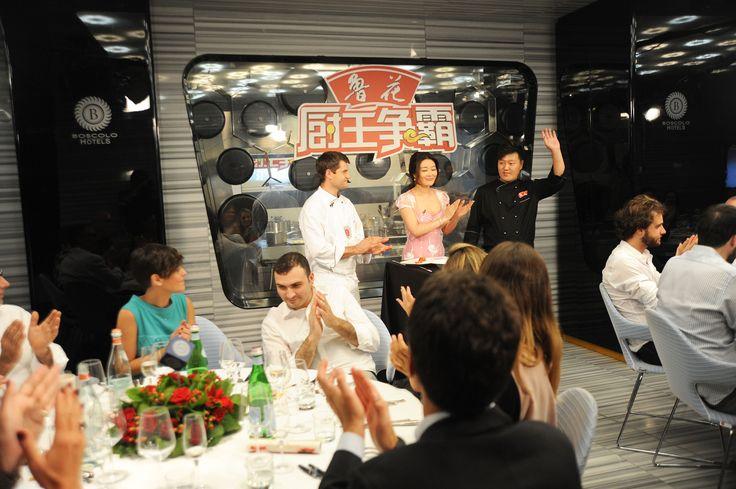 #GreatestChefChina: the chinese #MasterChef in Italy at #BoscoloHotel. A #Tecnomovie - #TriumphGroupInt format.